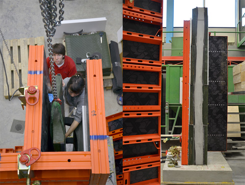 Prototype: 3m column, Testing concrete Pressure, Formwork Performance and Assembly